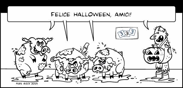 happy halloween, amigos!