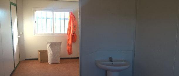 Separación clara entre zona sucia o externa y zona limpia o interna