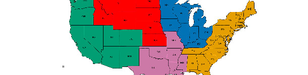 Regioni veterinarie  USDA-APHIS