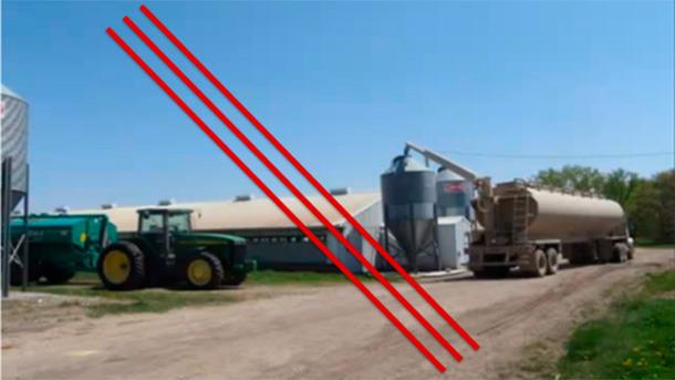 Separazione tra i mangimi ed i liquami è essenziale per il controllo del PEDv.