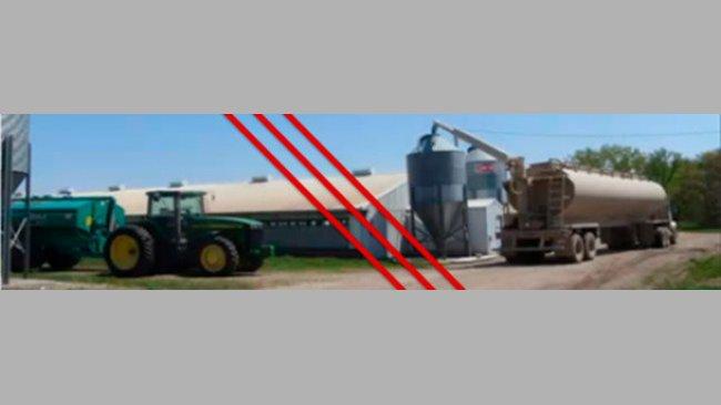 Separazione tra il mangime ed il liquame è essenziale per controllare il PEDv.