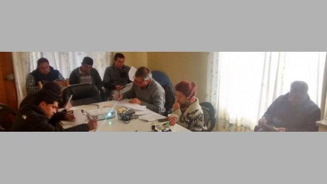 Realización de cursos específicos para equipos de  1