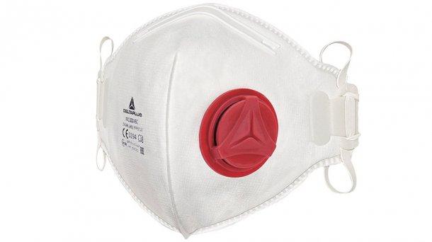 Raccomando come protezione respiratoria minima una maschera antipolvere usa e getta che si adatta bene e con doppio nastro.