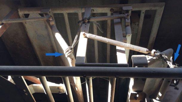 Foto 3. Al inicio del entrenamiento se dejan las puertas sólidas ligeramente entreabiertas.