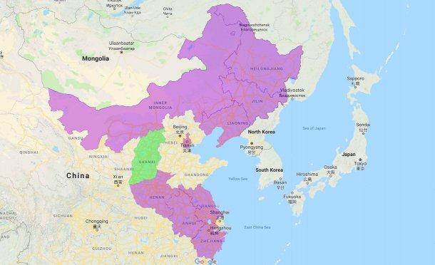 Provincie e municipi autonomi colpita dalla PSA