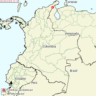 Afta epizootica in Colombia