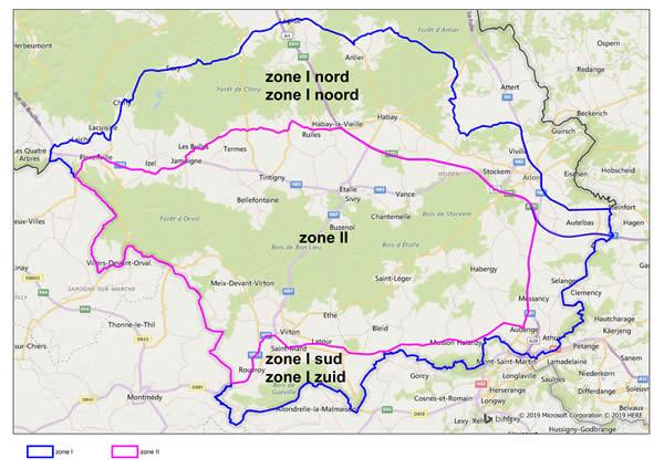 Zone PSA in Belgio