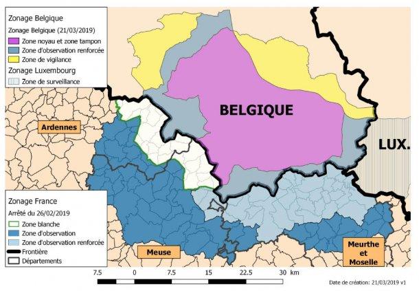 Zone PSA Francia Belgio