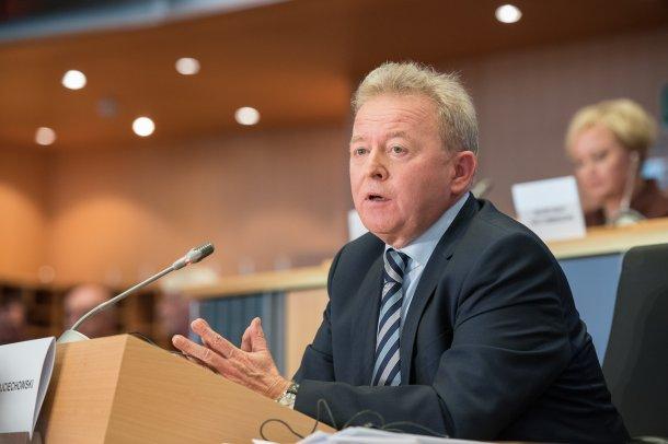Janusz Wojciechowski, candidat au portefeuille de l'agriculture.